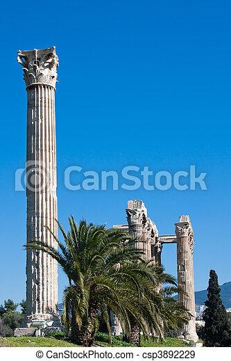 Temple of Zeus - csp3892229
