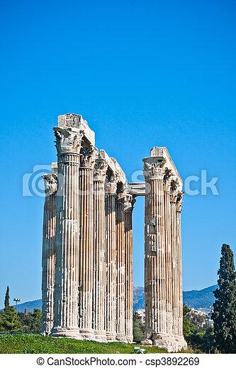 Temple of Zeus - csp3892269