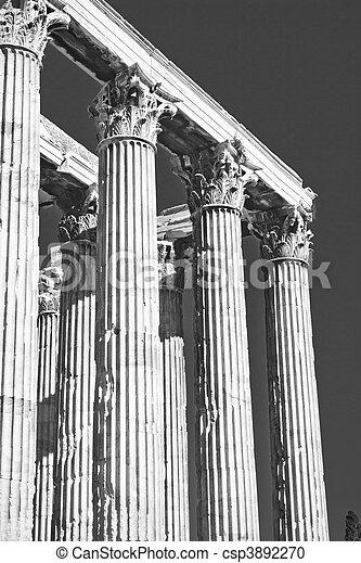 Temple of Zeus - csp3892270