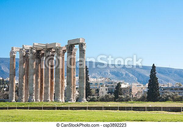 Temple of Zeus - csp3892223