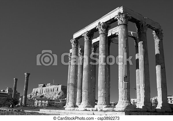 Temple of Zeus - csp3892273