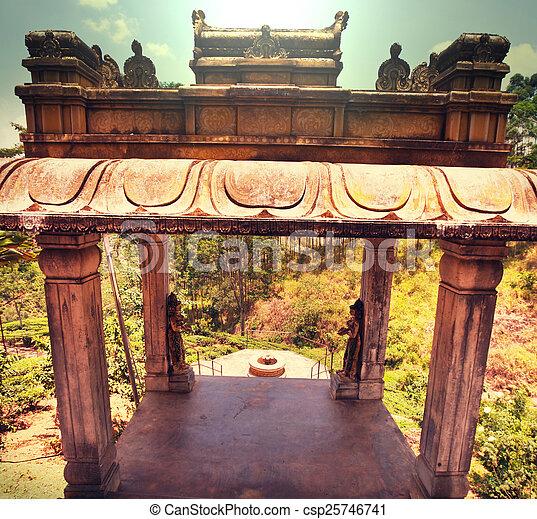 Temple on Sri Lanka - csp25746741