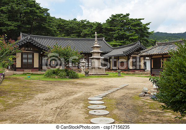 Temples in South Korea - csp17156235