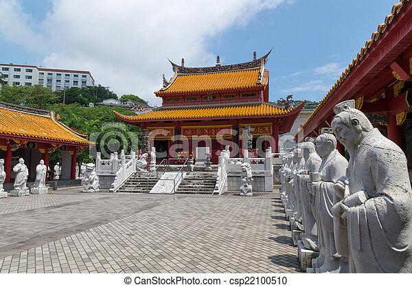 Templo Confucio en Nagasaki, Japón - csp22100510
