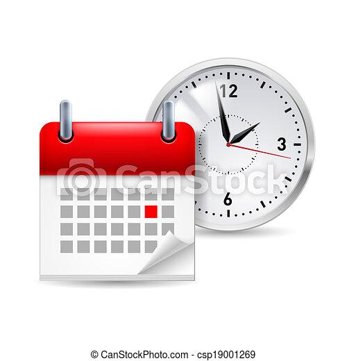 tempo, ícone - csp19001269
