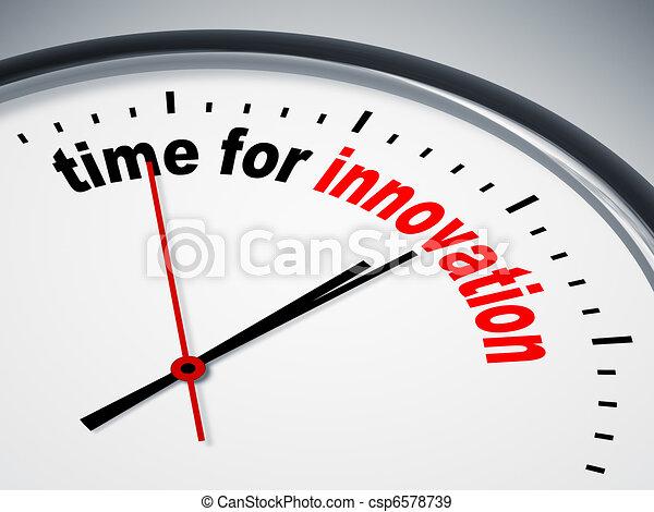 tempo, innovazione - csp6578739
