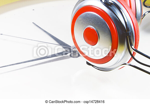 tempo, música - csp14728416