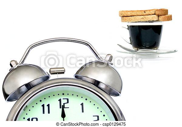 Desayuno temprano - csp0129475