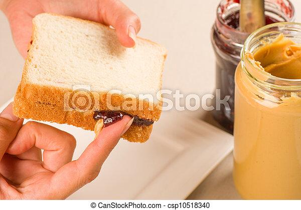 Tempting sandwich - csp10518340