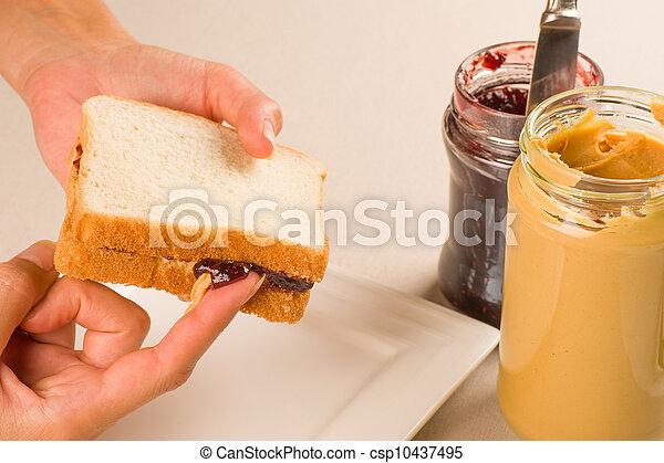 Tempting sandwich - csp10437495