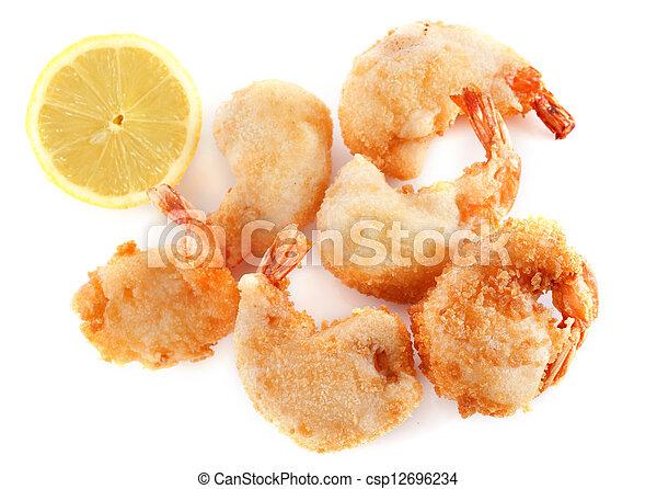 tempura shrimps - csp12696234