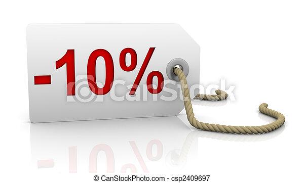 Ten percent discount - csp2409697