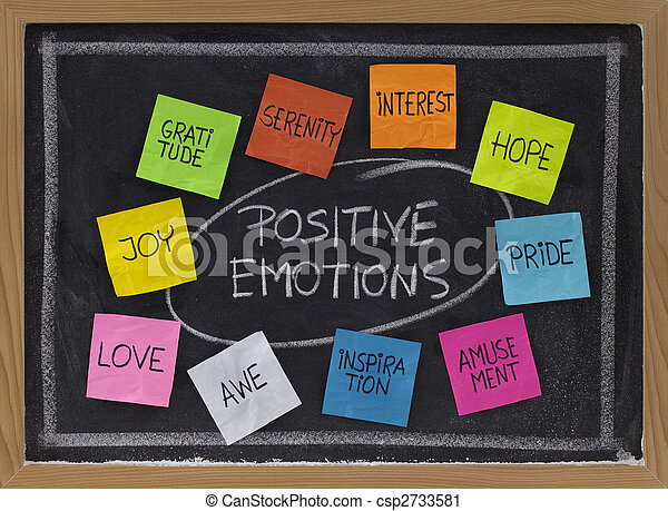 ten positive emotions - csp2733581