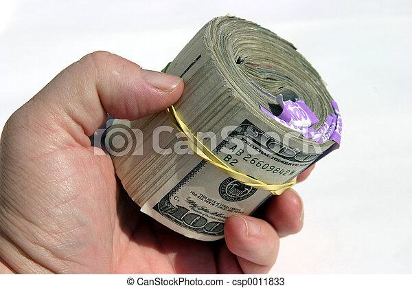 Ten Thousand bucks! - csp0011833
