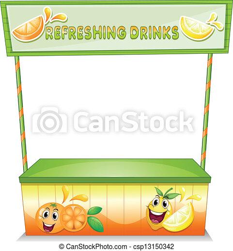 tenda, refrescar, bebidas - csp13150342