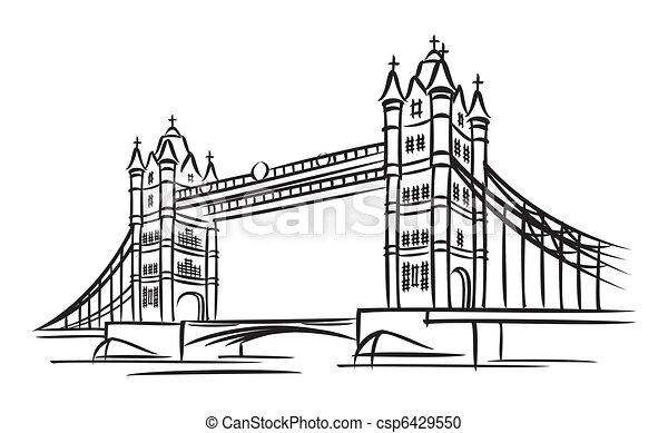 tender un puente sobre la torre - csp6429550