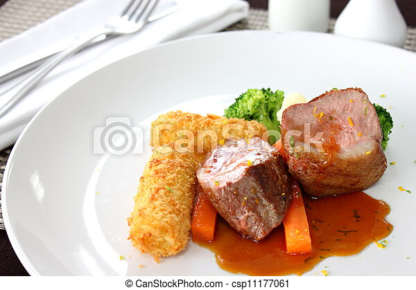 Tenderloin steak - csp11177061