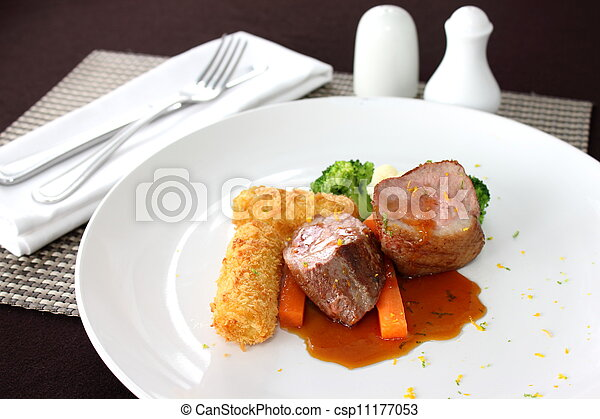 Tenderloin steak - csp11177053