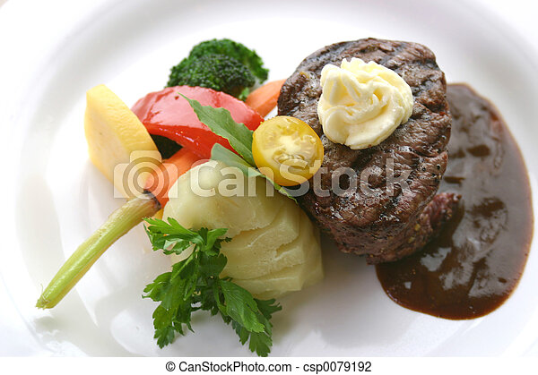 Tenderloin Steak - csp0079192
