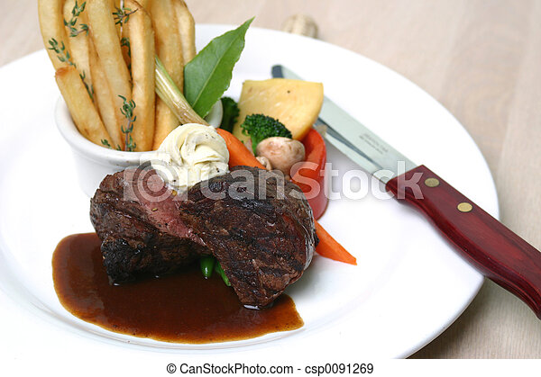 Tenderloin Steak - csp0091269