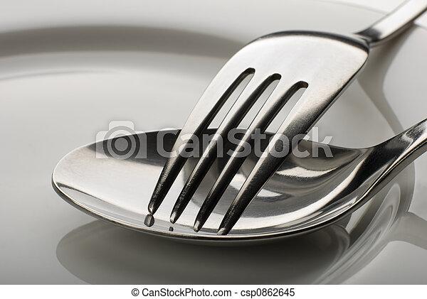 El tenedor - csp0862645