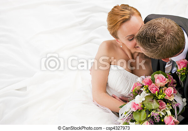 tenerezza, -, matrimonio - csp4327973