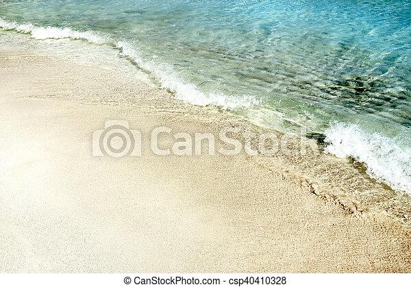 tengerpart, tenger - csp40410328