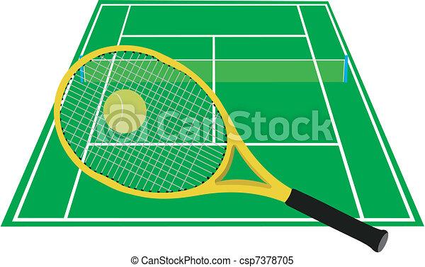 Tenis - csp7378705