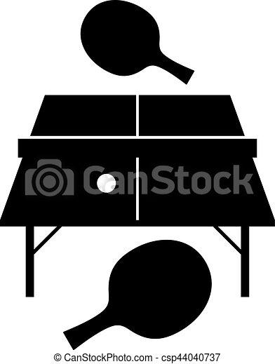 tenis de mesa - csp44040737