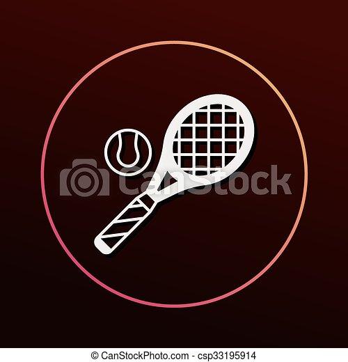 El icono del tenis - csp33195914