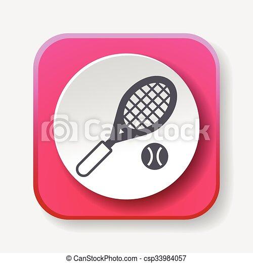 El icono del tenis - csp33984057