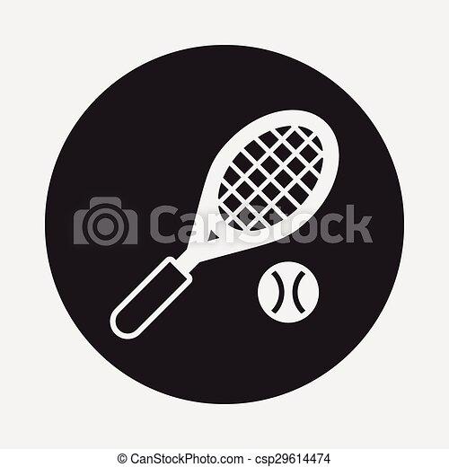 El icono del tenis - csp29614474