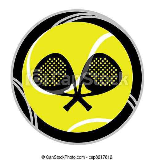 Señal de tenis - csp8217812