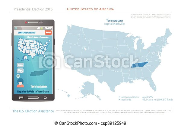 tennessee - csp39125949