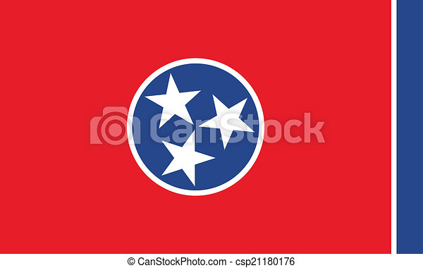 Tennessee flag - csp21180176