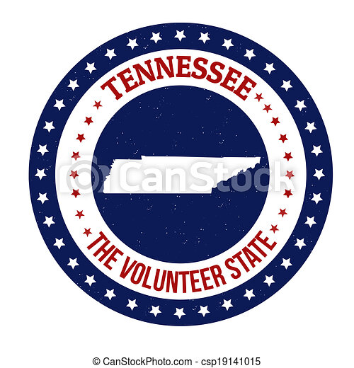 Tennessee stamp - csp19141015