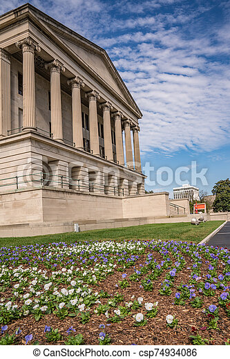 Tennessee State Capital Building - csp74934086