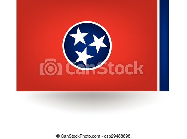 Tennessee State Flag - csp29488898
