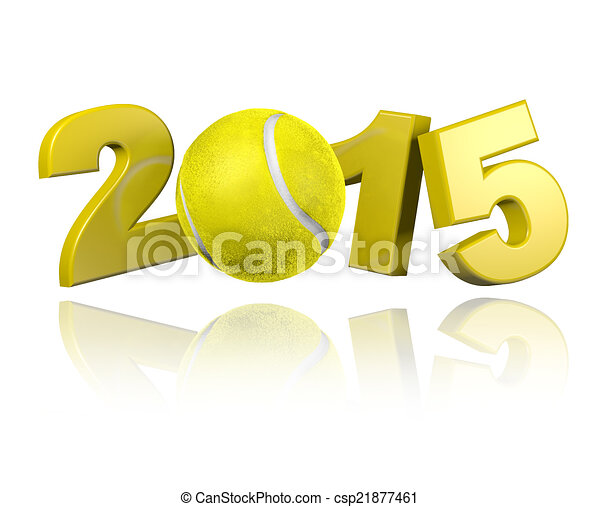 Tennis 2015 design - csp21877461