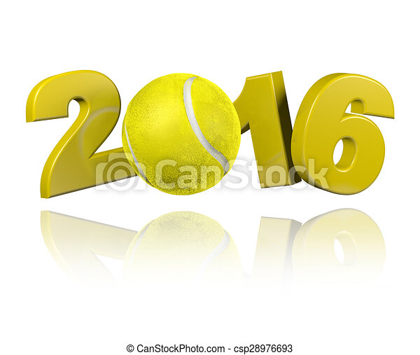 Tennis 2016 design  - csp28976693