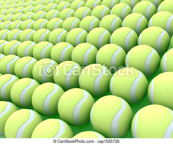 tennis balls - csp1555726