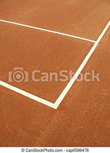 Tennis court - 1 - csp0596478