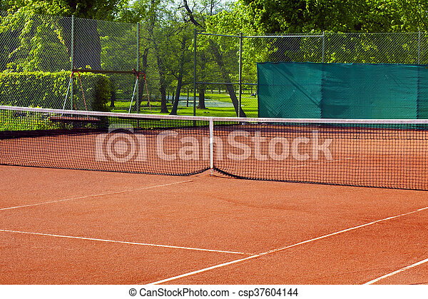 Tennis court - csp37604144