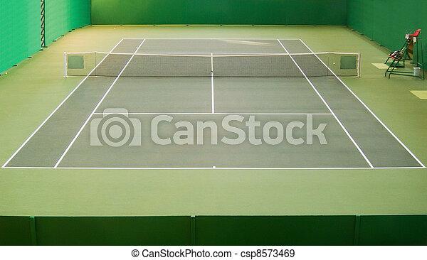 Tennis court - csp8573469