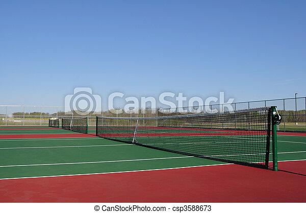 Tennis Courts - csp3588673