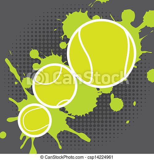 tennis design - csp14224961