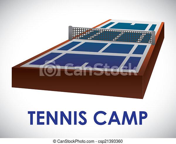 tennis design - csp21393360