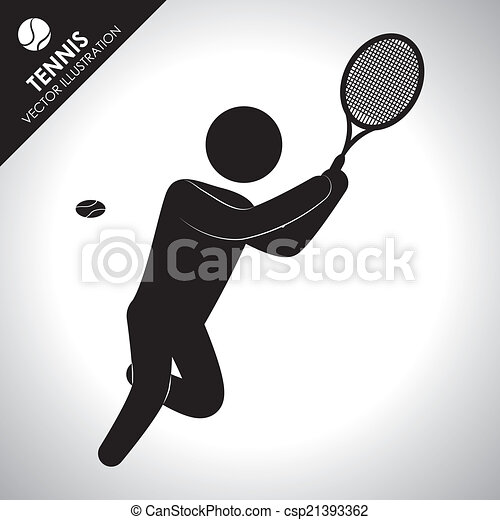 tennis design - csp21393362