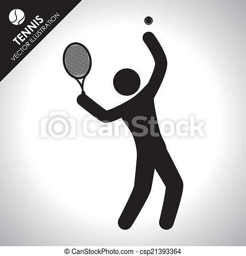 tennis design - csp21393364