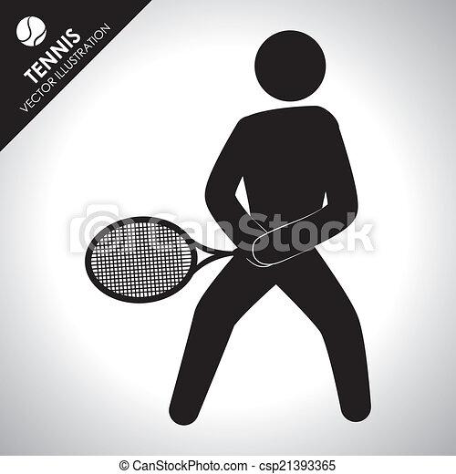 tennis design - csp21393365
